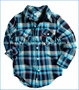Appaman, Blue Plaid Flannel Shirt