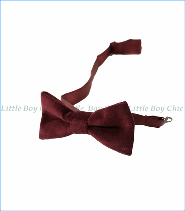 Appaman, Bowtie in Tibetan Red Velvet