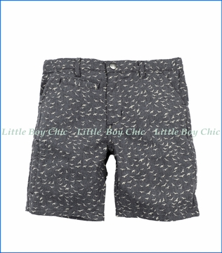 Appaman, Coastal Birds Shorts in Grey