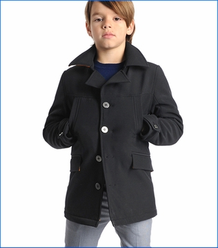 Appaman, Empire Coat in Black
