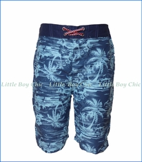 Appaman, Hawaiian Swim Trunks in Blue
