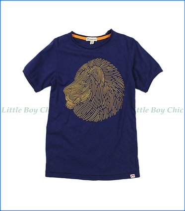 Appaman, Lion Graphic T-Shirt in Deep Cobalt