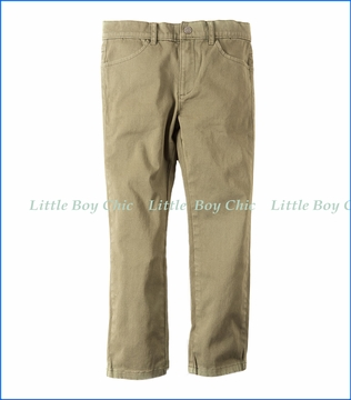 Appaman, Skinny Twill Pant in Stone Olive