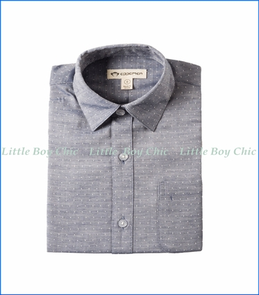 Appaman, Standard Shirt in Navy Square
