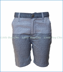 Appaman, Stripe Hybrid Shorts in Slate