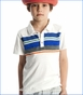 Appaman, Walsh Slub Polo in Cloud Dancer