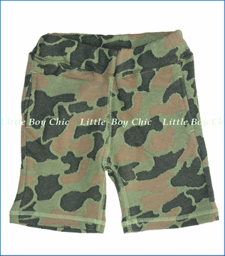 Bit'z Kids, Camo JQ Shorts in Green (c)