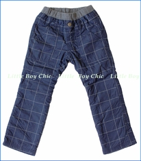 Bit'z Kids, Fleece-Lined Striped Pants in Blue