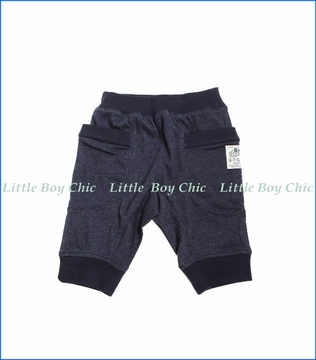 Bit'z Kids, Kit Gored Wrap-Around Cargo Shorts in Blue