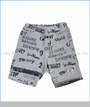 Bit'z Kids, Name Knit Shorts in Grey