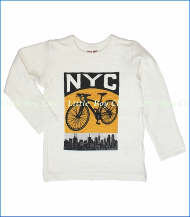 Bit'z Kids, NYC Tee in Cream