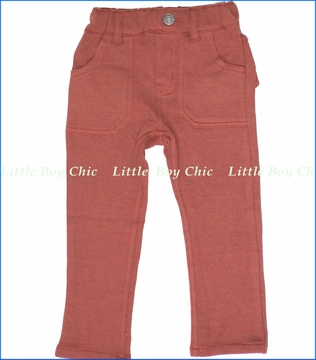 Bit'z Kids, Orange Skinny Pull-Up Pants