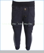 Bit'z Kids, Ribbed Bottom Cargo Pants in Black