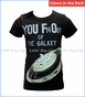 Bit'z Kids, UFO Glow in the Dark T-Shirt in Grey