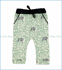 Blune, Tiger Slightly-Harem Pants in White