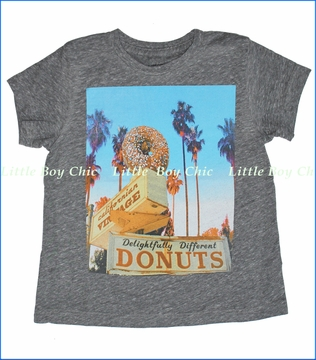 Californian Vintage, Sprinkles Tee in Heather Grey (c)