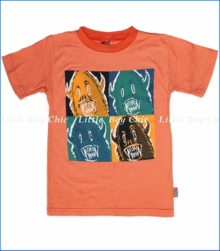 Charlie Rocket, Monster Tee in Papaya (c)