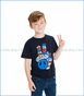 Chaser, Freedom Fingers T-Shirt in Black