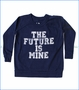 Chaser, Future is Mine Raglan Jersey T-Shirt in Blue