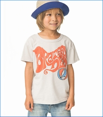 Chaser, Grateful Dead Hippy Tee in Salt