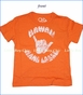 Chaser, Hang Loose T-Shirt in Orange