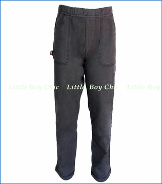 City Threads, Jersey Front Pocket Pants in Grey