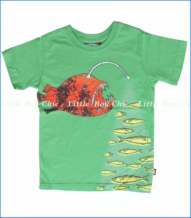 City Threads, Lantern Fish Tee in Elf (c)