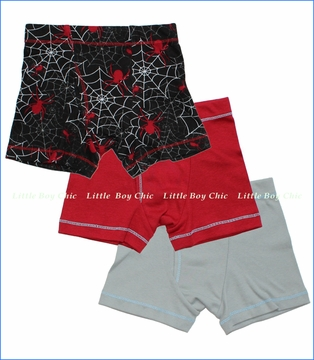 City Threads, Spider Boxer Briefs 3-Pack (c)