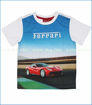 Ferrari by Puma, Ferrari Tee in White (c)