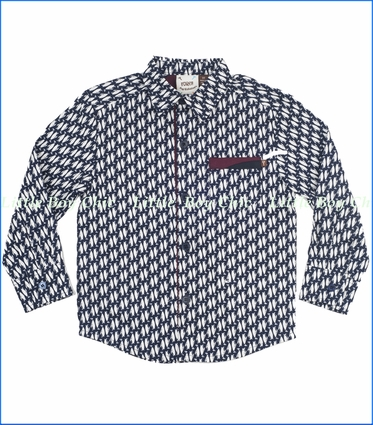 Fore!!, Allover Penguin Buttoned Shirt