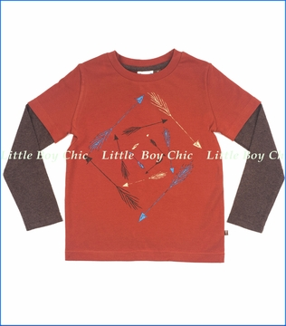 Fore!!, Arrows 2fer Tee in Red