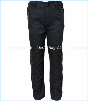 Fore!! , Charcoal Brush Flannel Pant in Grey