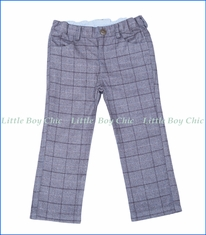 Fore!!, Club Plaid Pants in Charcoal