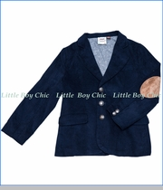 Fore!!, Corduroy Blazer in Navy