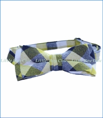 Fore!!, Flannel Plaid Bow Tie in Yellow