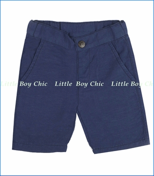 Fore!!, Navy Linen Shorts