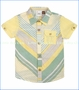 Fore!!, Stripe Playground Buttoned Shirt in Yellow (c)