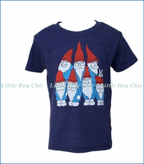 Gnome, Gnomes T-Shirt in Indigo