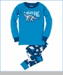 Hatley, Dream Big Pajama Set in Blue