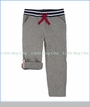 Hatley, French Terry Roll Up Pants in Grey