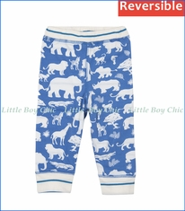 Hatley, Reversible Safari Pants in Blue