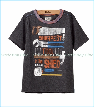Hatley, Sharpest Tools In The Shed T-Shirt in Black