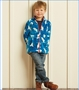 Hatley, Skiing Polar Bears Fuzzy Fleece Zip Jacket