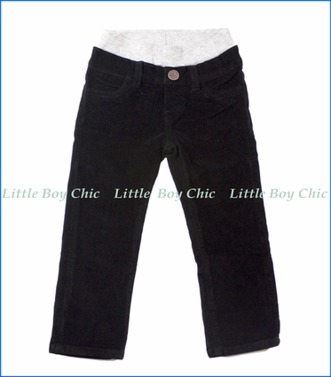 Hoonana, Corduroy Pants in Black