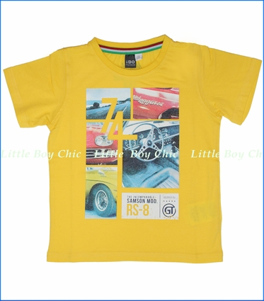 iDo, Hot Rods Tee in Yellow (c)
