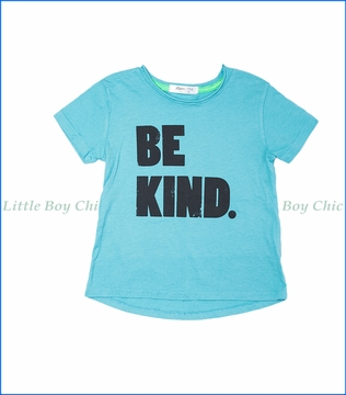 Joah Love, Be Kind Jayden T-Shirt in Harbor Turquoise