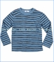Joah Love, Harry Stripe Tee in Coast