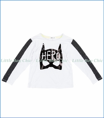 Joah Love, L/S Hero T-Shirt in White