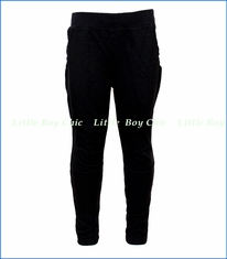 Joah Love, Moto Hipster Pants in Black