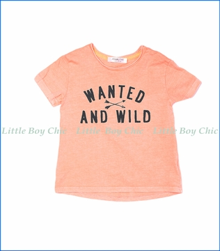Joah Love, Wanted and Wild Jayden T-Shirt in Sunset Pink